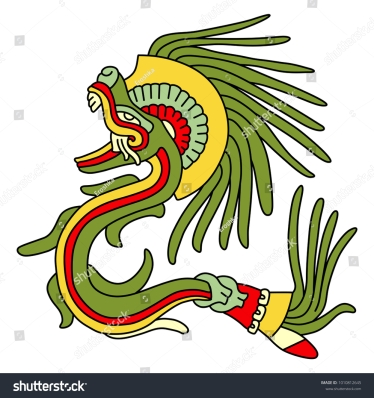 stock-vector-isolated-vector-illustration-feathered-serpent-quetzalcoatl-fantastic-mythological-creature-of-1010812645